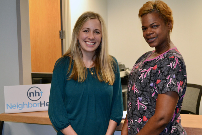 Physician Assistant Betsy Joyner and Lolita