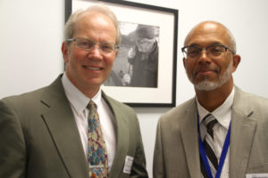 Medical Director Doug Briggs, M.D, and Ben Money, president and CEO of the North Carolina Community Health Center Association