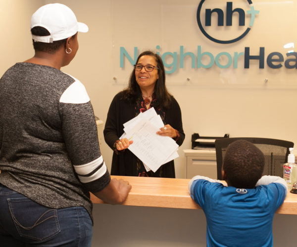 NeighborHealth Front Desk